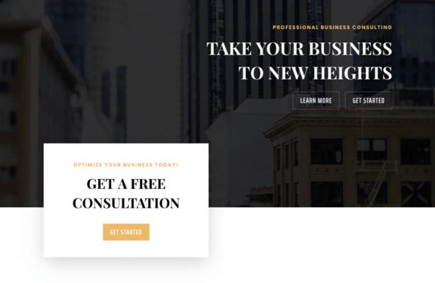 tendenza del web design di layout a griglia spezzata